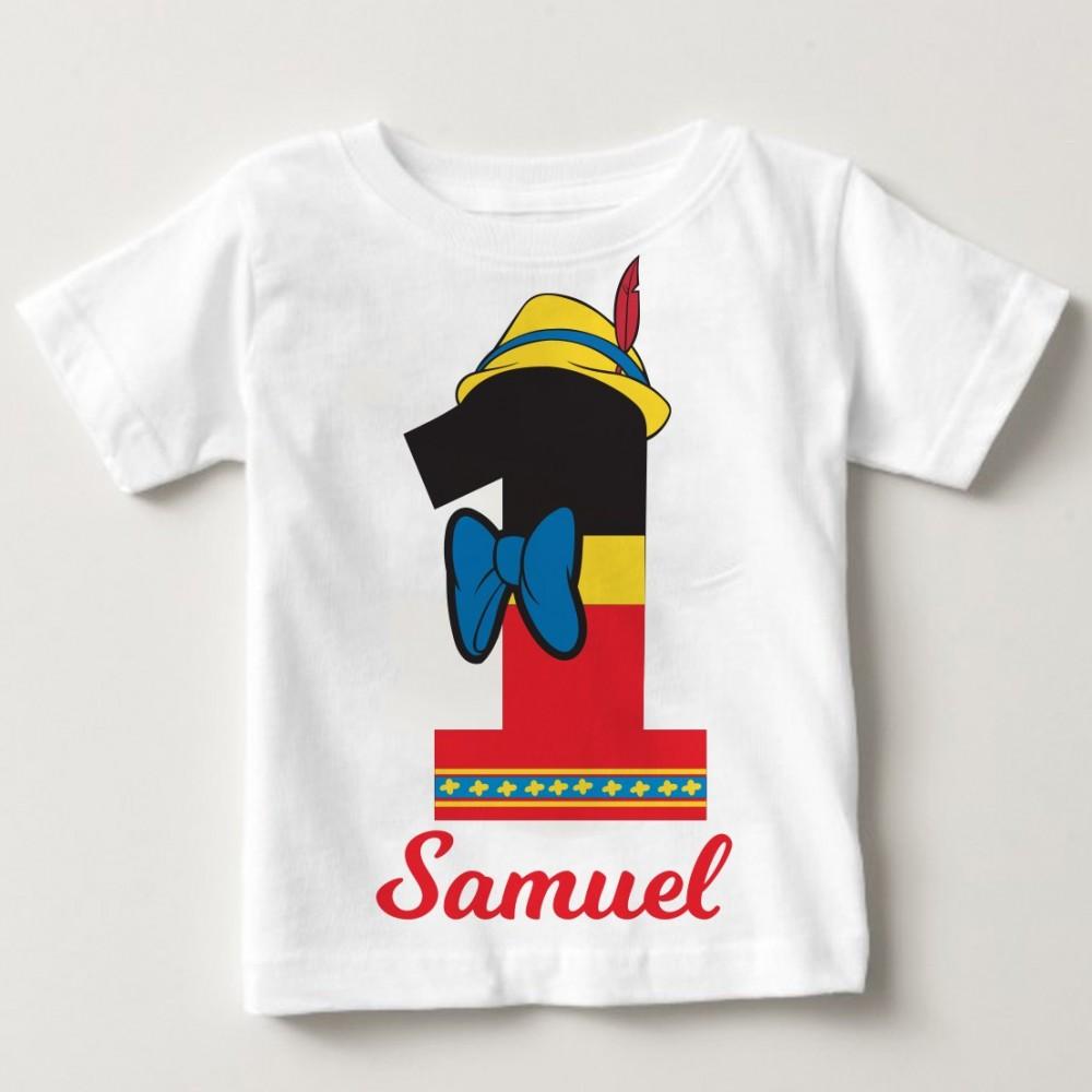T Shirt 1 Compleanno Personalizzata