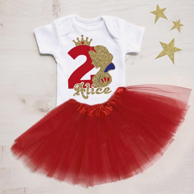 T-shirt 1° Compleanno One Tema Unicorno