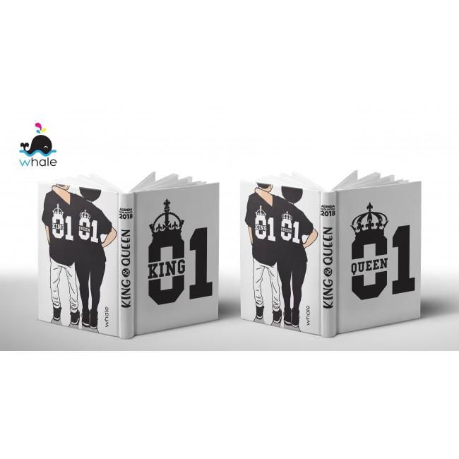Cover Personalizzata King & Queen