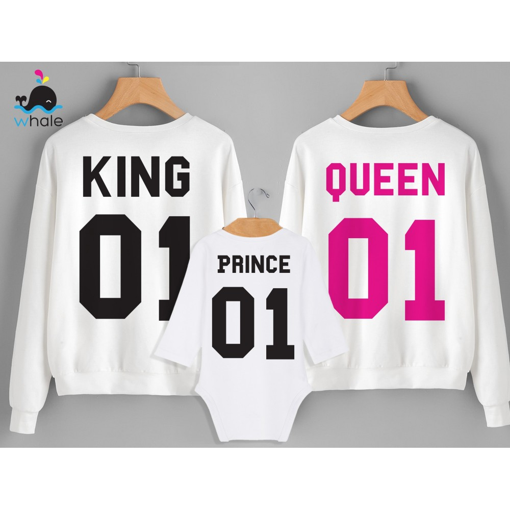 tshirts di Coppia - King e Queen