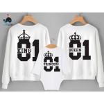 tshirts di Coppia Glitter - King & Queen