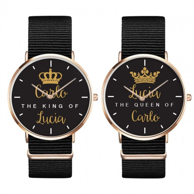 tshirts di Coppia KING E QUEEN