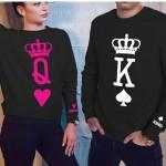 tshirts Famiglia - King  01 Queen 01 Prince 01 Princess 01