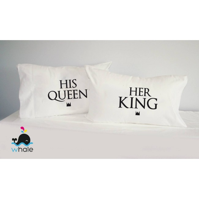 Coppia di Cuscini Mr.&Mrs.