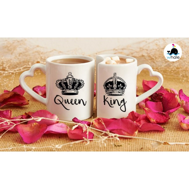 Coppia di Cuscini King & Queen