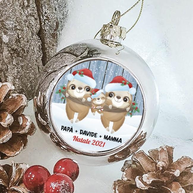 Bodino neonato natalizio - Renna Personalizzata