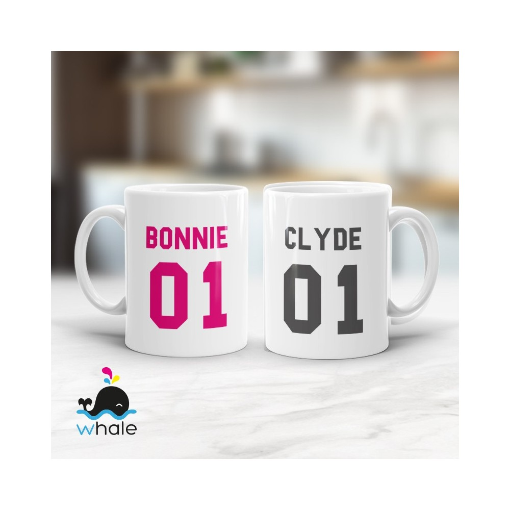 Tazza di Coppia - Her King His Queen
