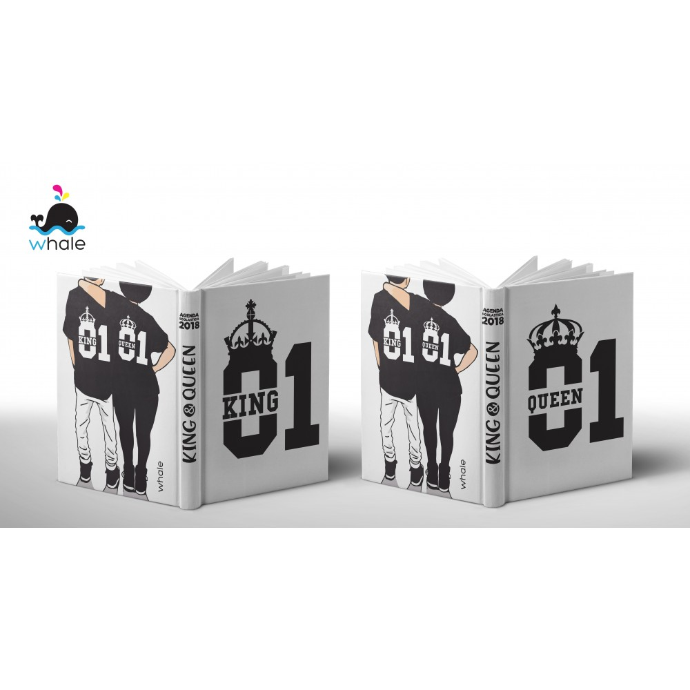 Cover Personalizzata King & Queen